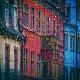 Bild Häuser mit Lichtern