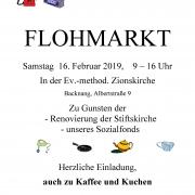 FLOHMARKT 2019 Plakat