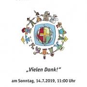 Flyer für Gottesdienst