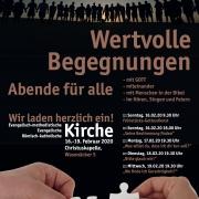 Plakat: Abende für alle in Burgstall