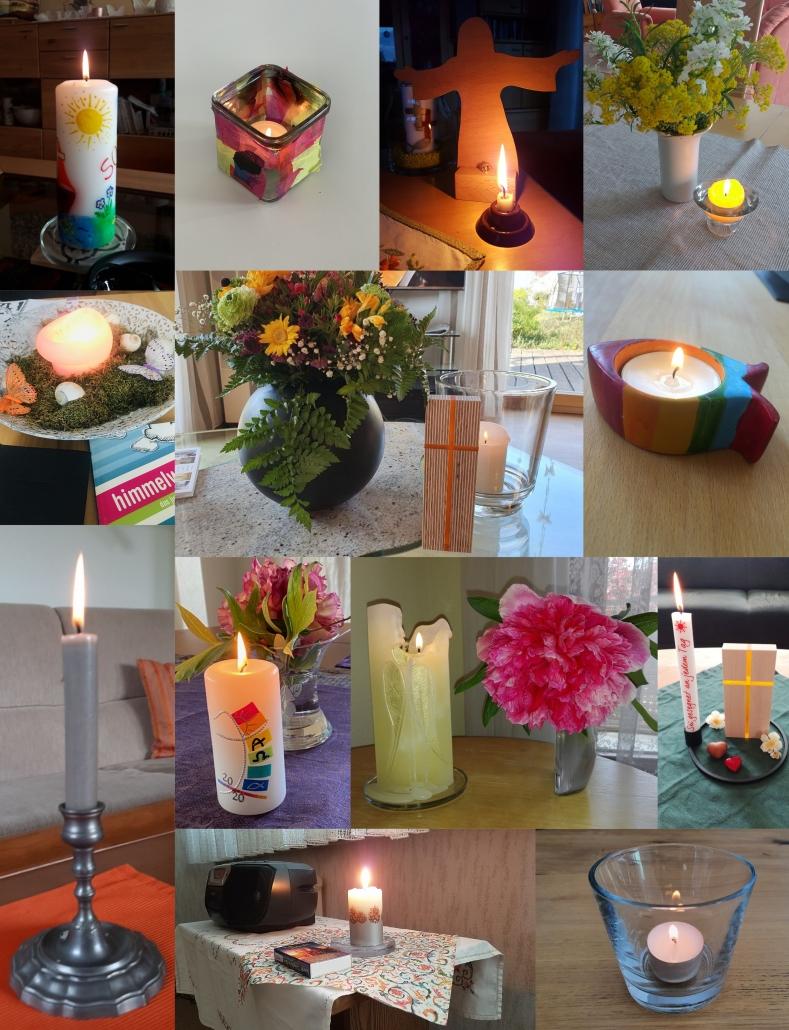 RadioGottesdienst-Kerzen