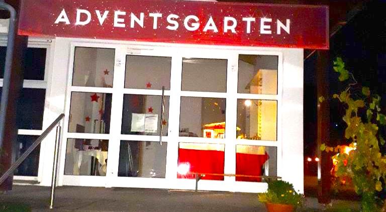 Adventsgarten in Burgstall